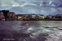 the claddagh basin, Galway. John Mc Hugh